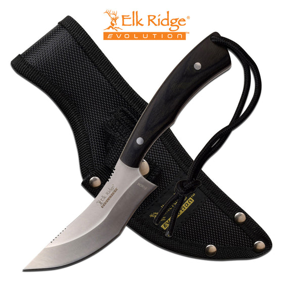 Elk Ridge Evolution ERE-FIX012-BK Fixed Blade Knife