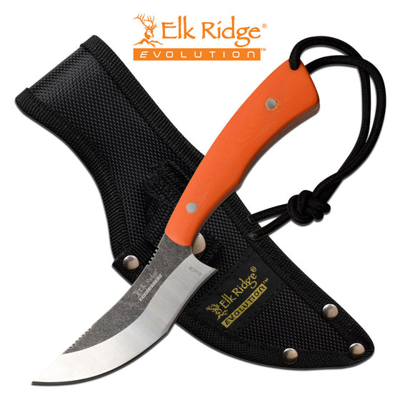 Elk Ridge Evolution ERE-FIX012-OR Fixed Blade Knife