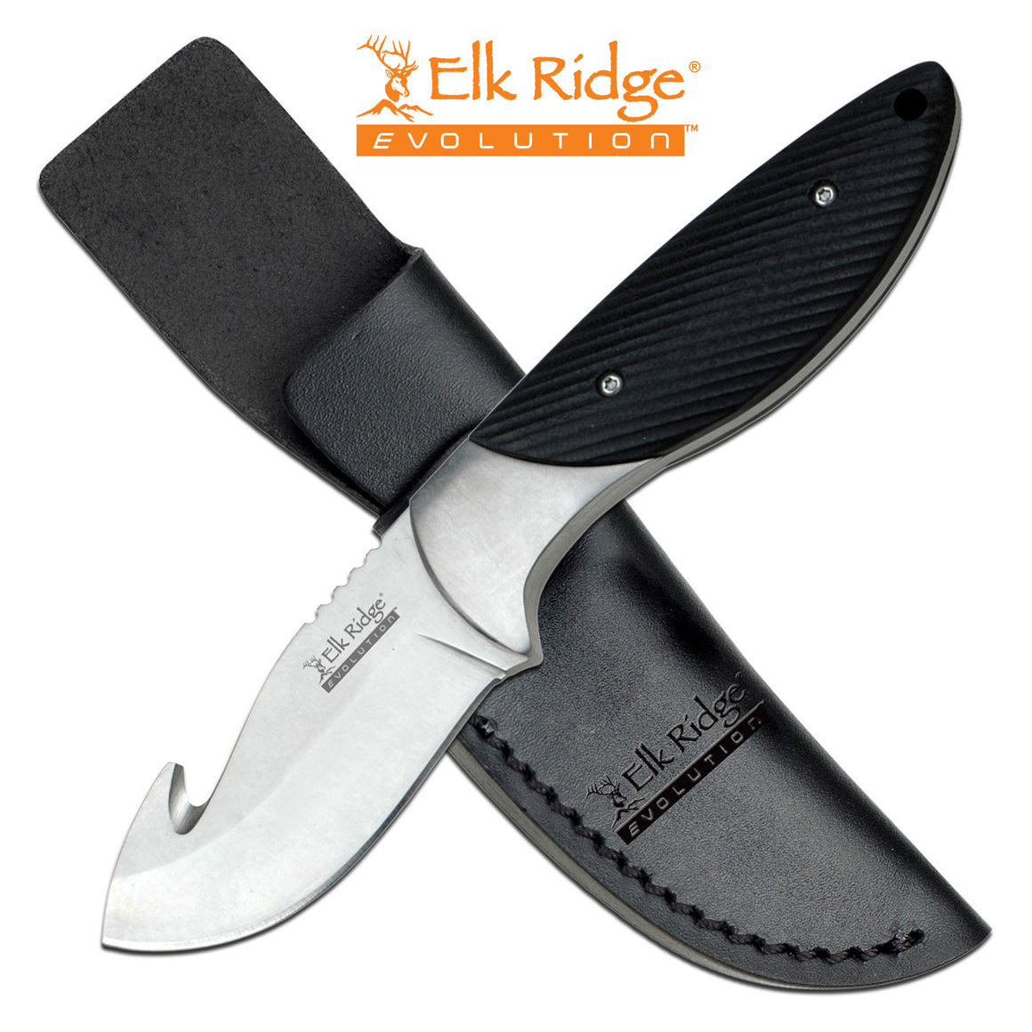 Elk Ridge Evolution ERE-FIX014GH-BK Fixed Blade Knife