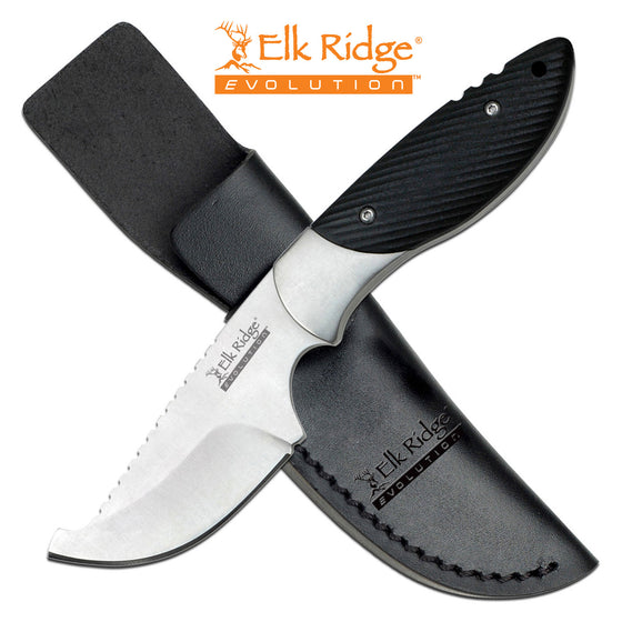 Elk Ridge Evolution ERE-FIX014JP-BK Fixed Blade Knife