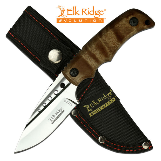 Elk Ridge Evolution ERE-FIX022-BW Fixed Blade Knife