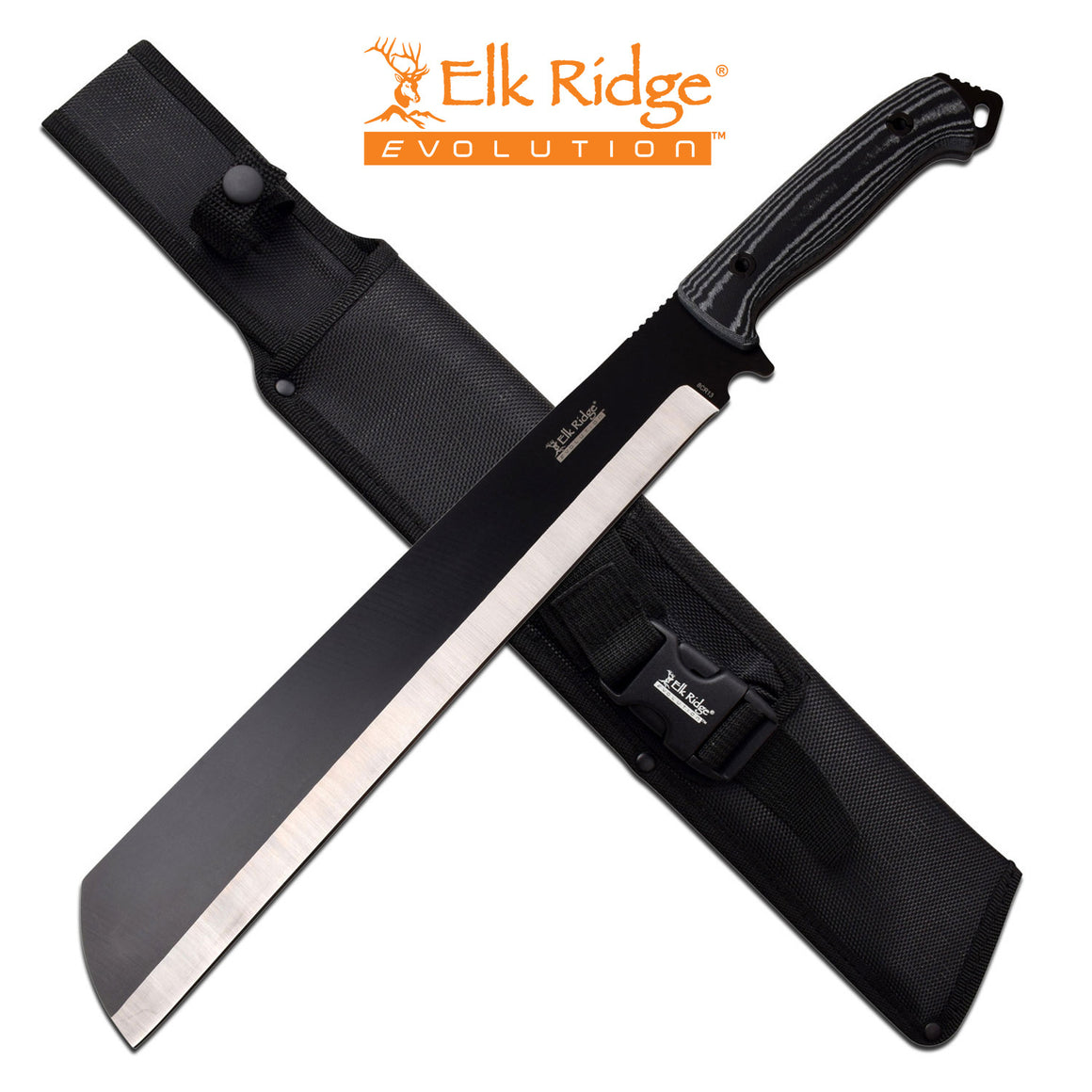 Elk Ridge Evolution ERE-MHT001L-BK Machete