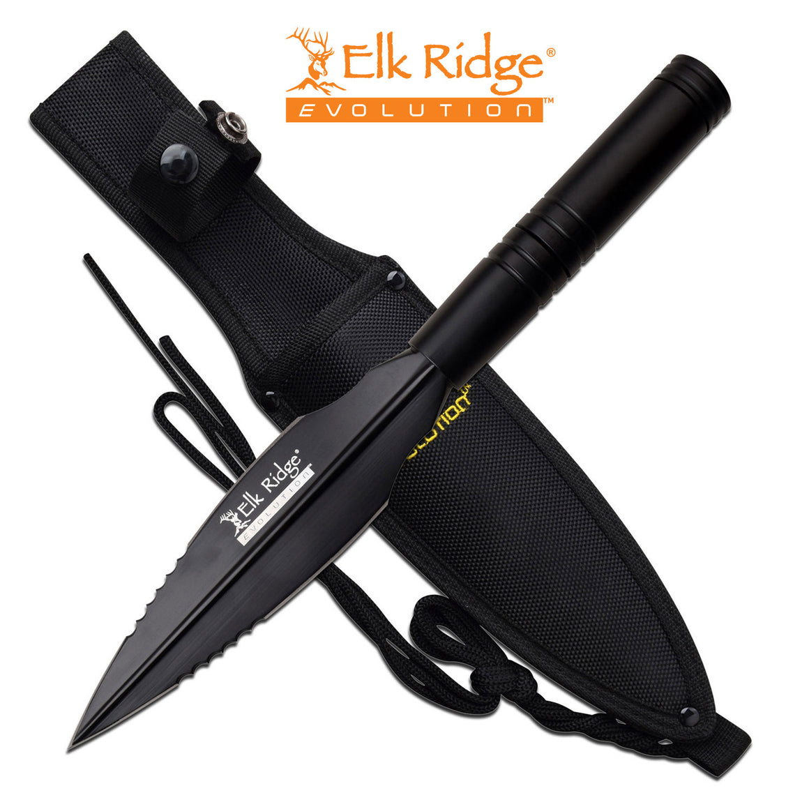 Elk Ridge Evolution ERE-SP001-BK Spear / Fixed Blade Knife