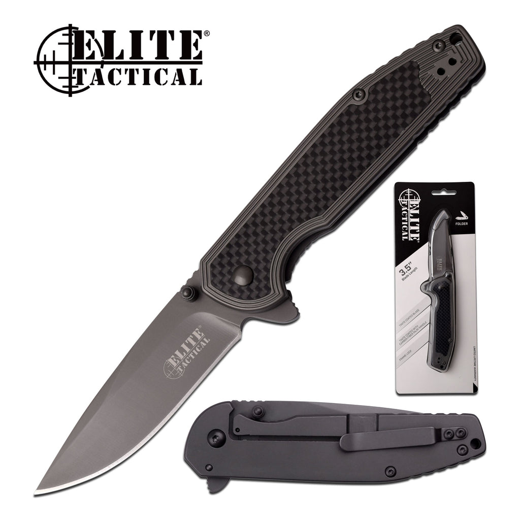 Elite Tactical ET-1007 Folding Knife