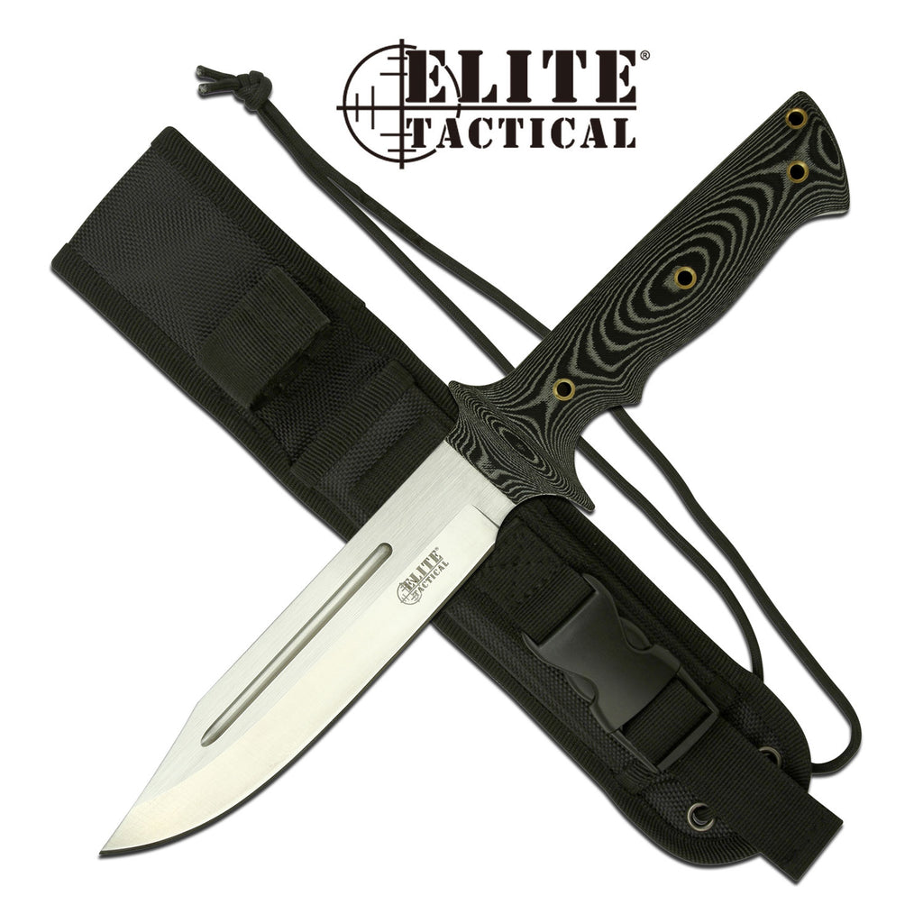Elite Tactical ET-1017 Fixed Blade Knife