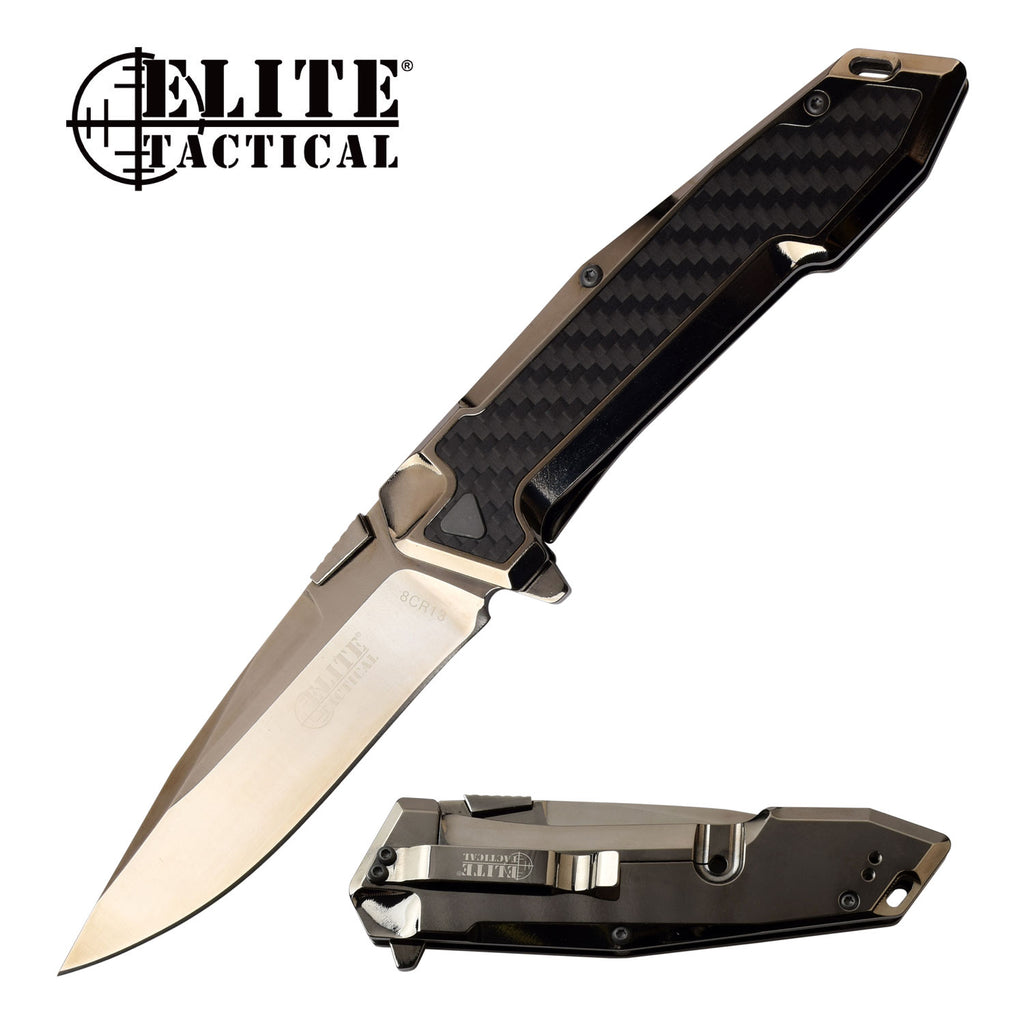 Elite Tactical ET-1018GM Folding Knife