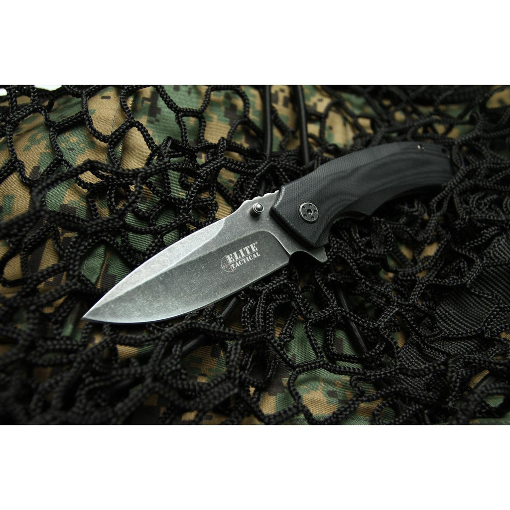 Elite Tactical ET-A1010 Spring Assisted Knife