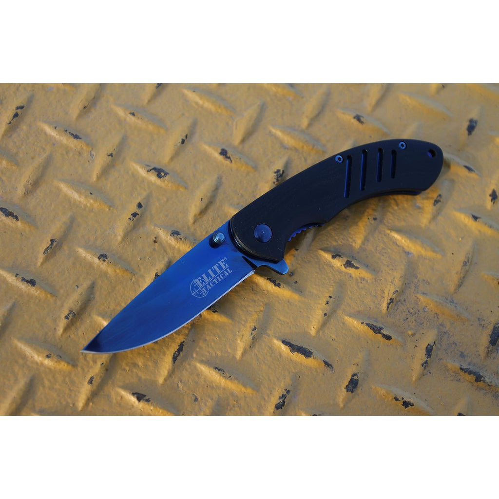 Elite Tactical ET-A1015 Spring Assisted Knife