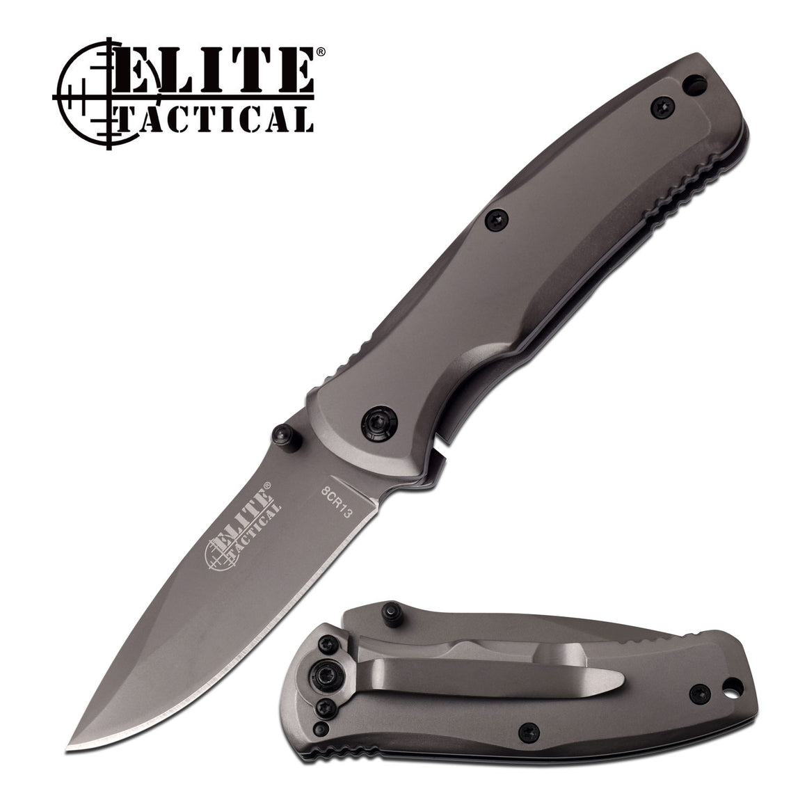 Elite Tactical ET-A1019-SO Spring Assisted Knife