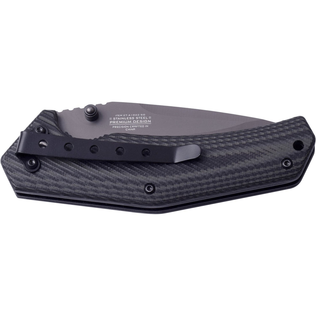 Elite Tactical ET-A1022-SO Spring Assisted Knife