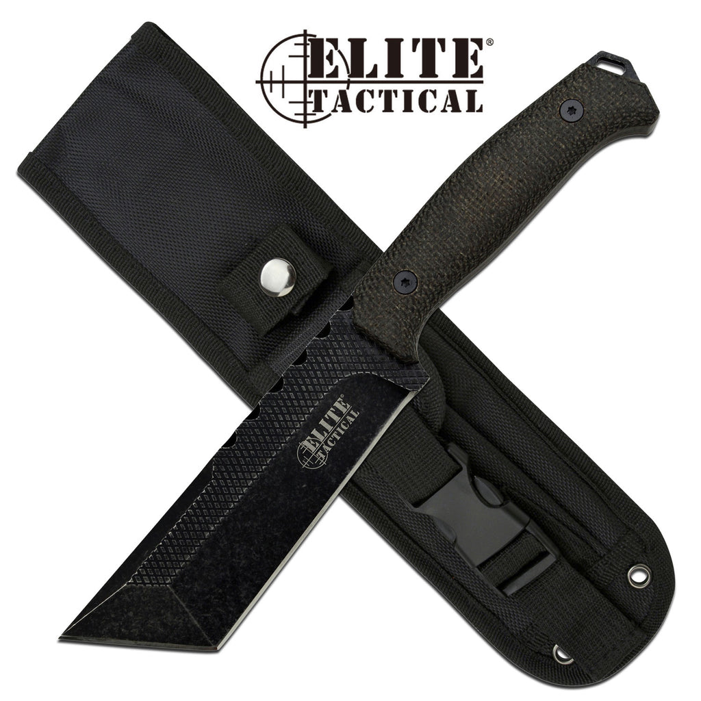 Elite Tactical ET-FIX001T-DSW Fixed Blade Knife