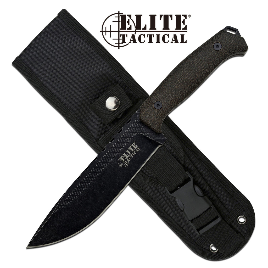 Elite Tactical ET-FIX002L-DSW Fixed Blade Knife