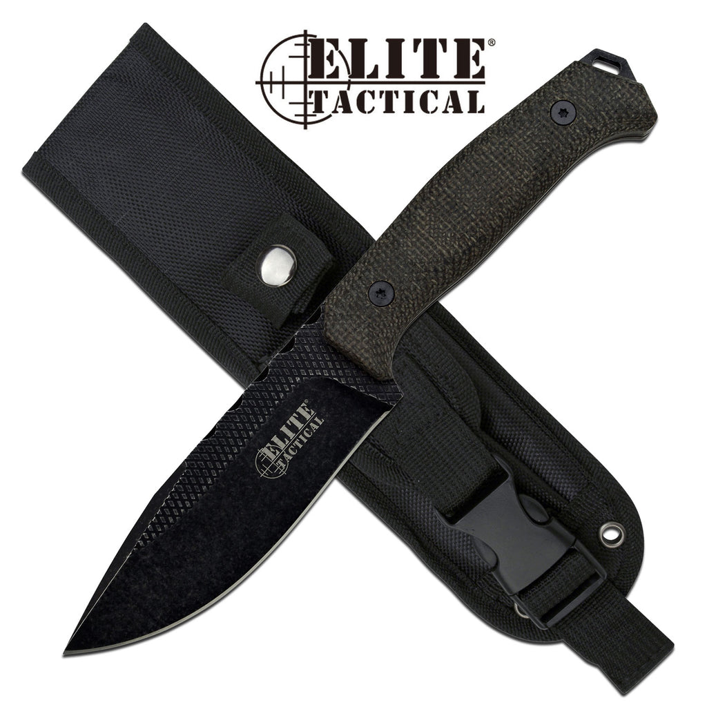 Elite Tactical ET-FIX002S-DSW Fixed Blade Knife