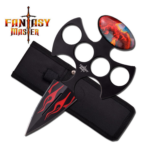 Fantasy Master FMT-045RD Fixed Blade Knife