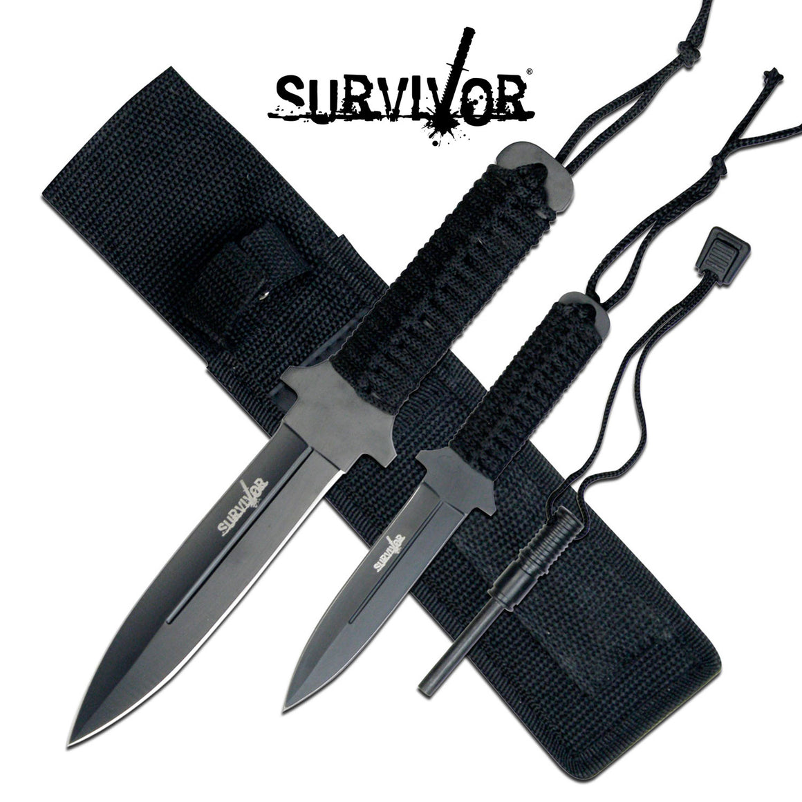 Survivor HK-1035 Combo Knife Set