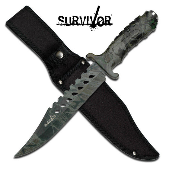 Survivor HK-1037 Fixed Blade Knife