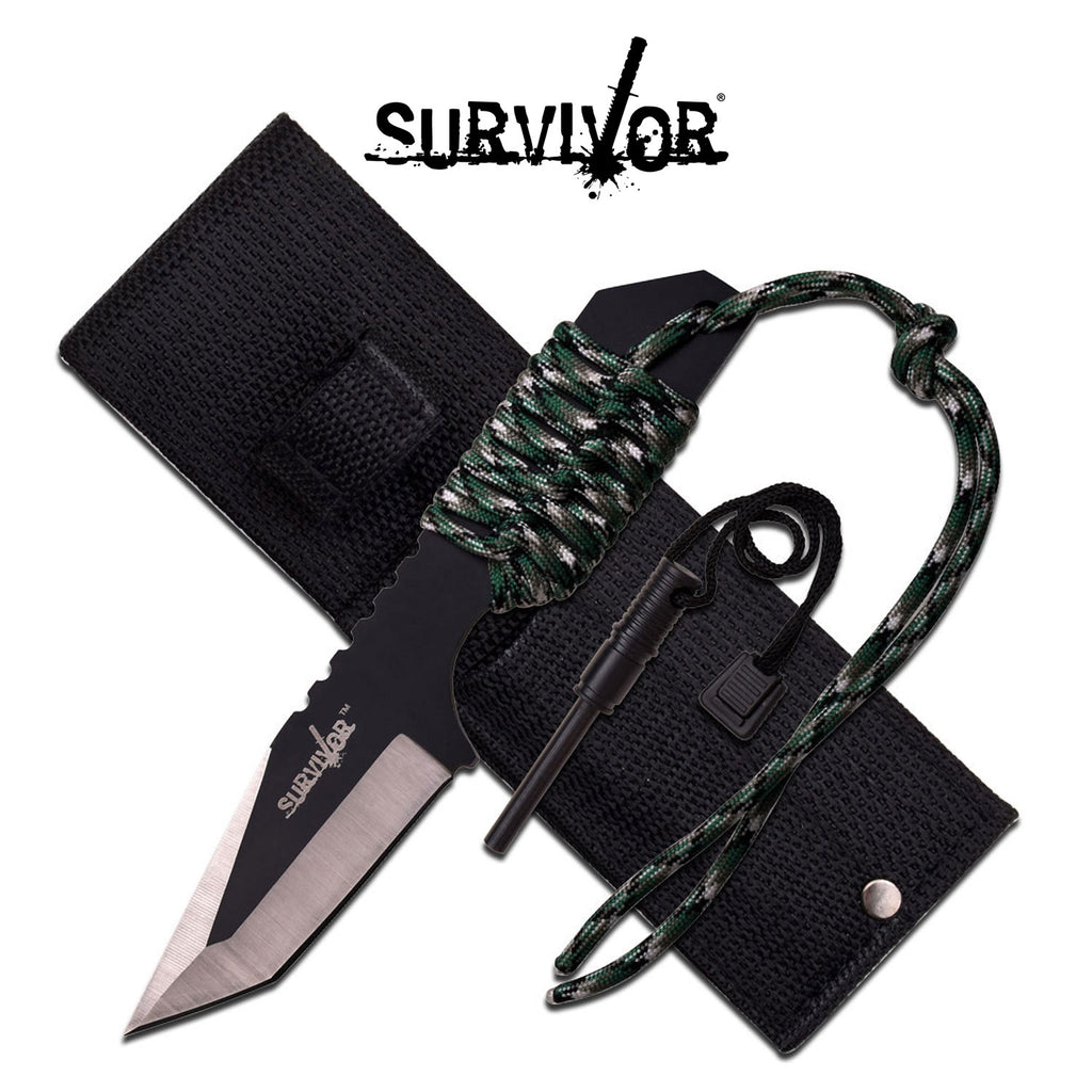 Survivor HK-106320DG Fixed Blade Knife