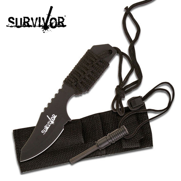 Survivor HK-106321B Fixed Blade Knife