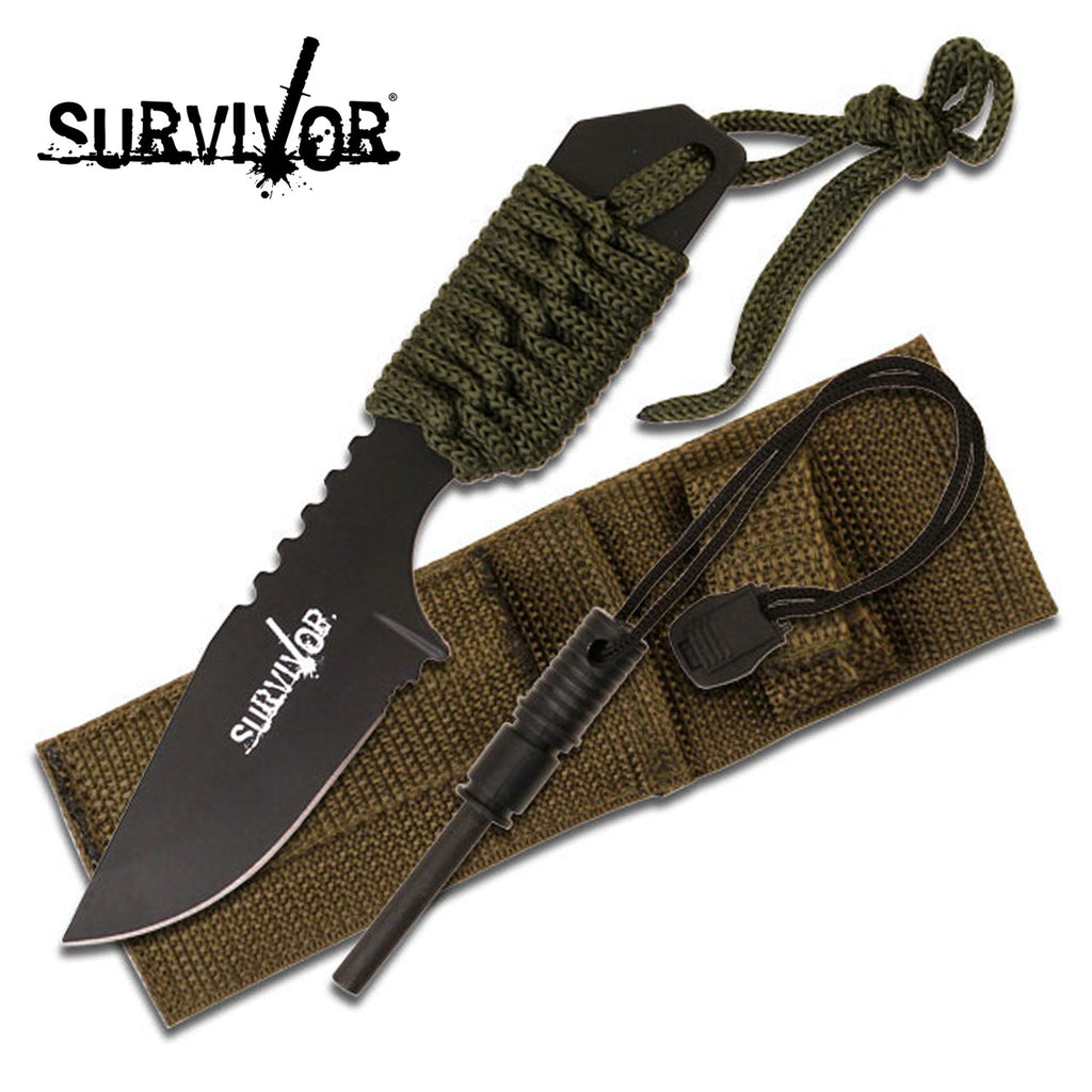 Survivor HK-106321G Fixed Blade Knife