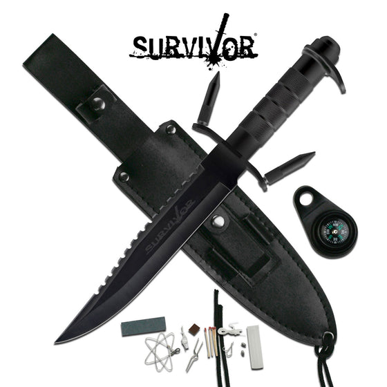 Survivor HK-217LB Fixed Blade Knife