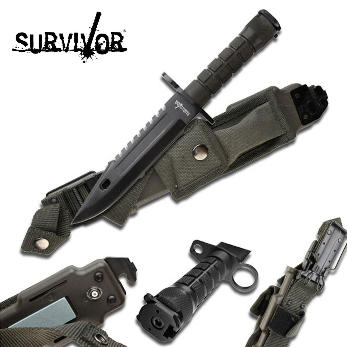 Survivor HK-56142BB Fixed Blade Knife