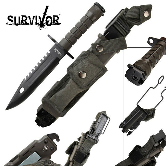 Survivor HK-56142B Fixed Blade Knife