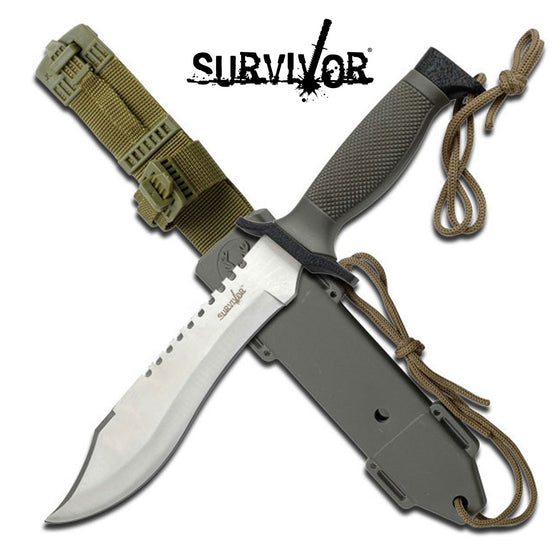 Survivor HK-6001S Fixed Blade Knife