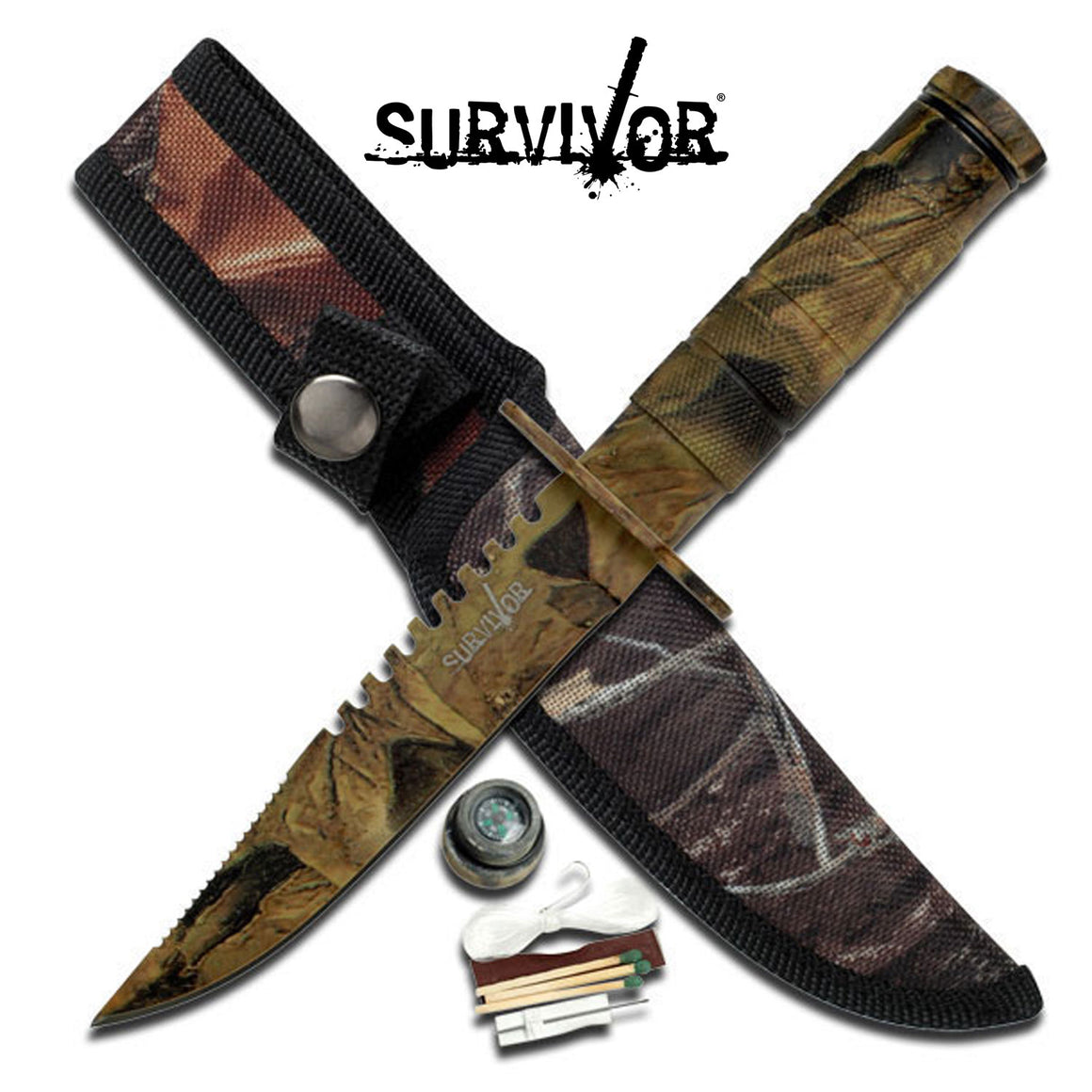 Survivor HK-690CA Fixed Blade Knife