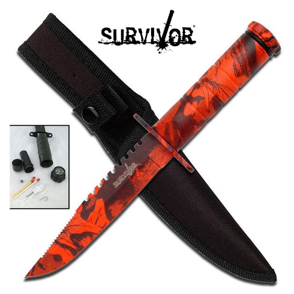 Survivor HK-690RC Fixed Blade Knife