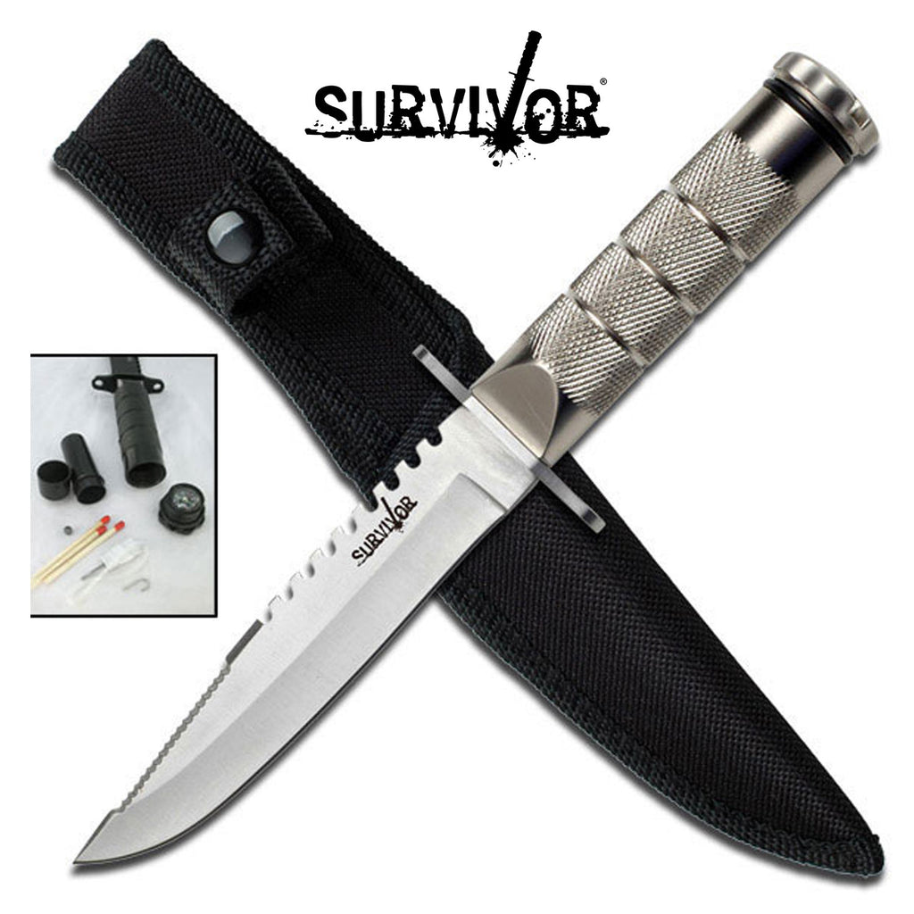 Survivor HK-690S Fixed Blade Knife