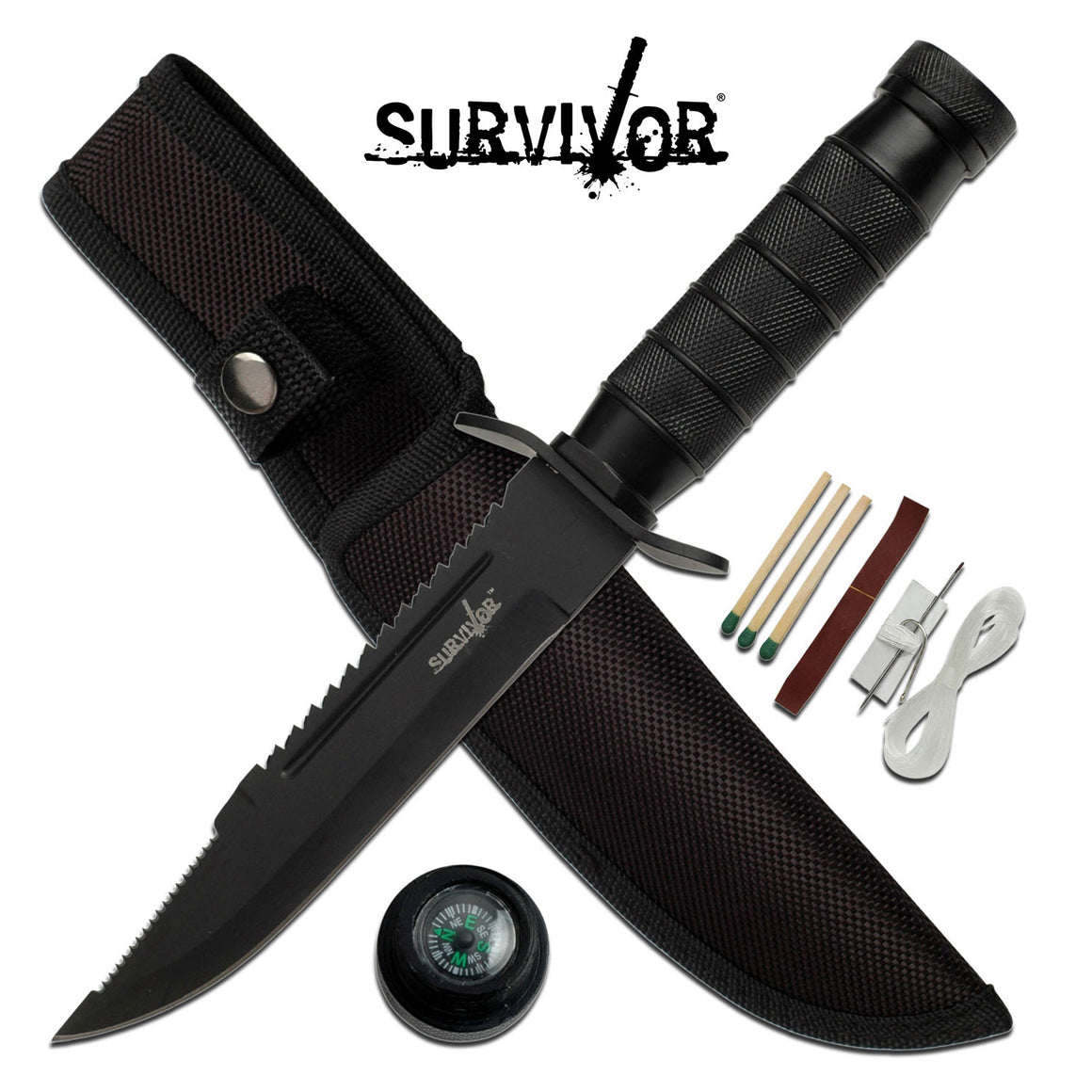 Survivor HK-695B Fixed Blade Knife