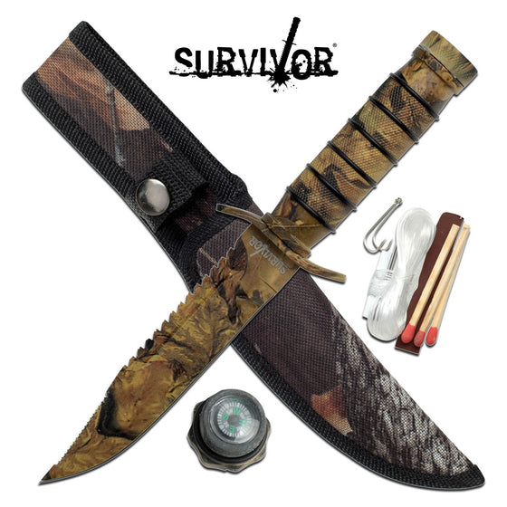 Survivor HK-695CA Fixed Blade Knife