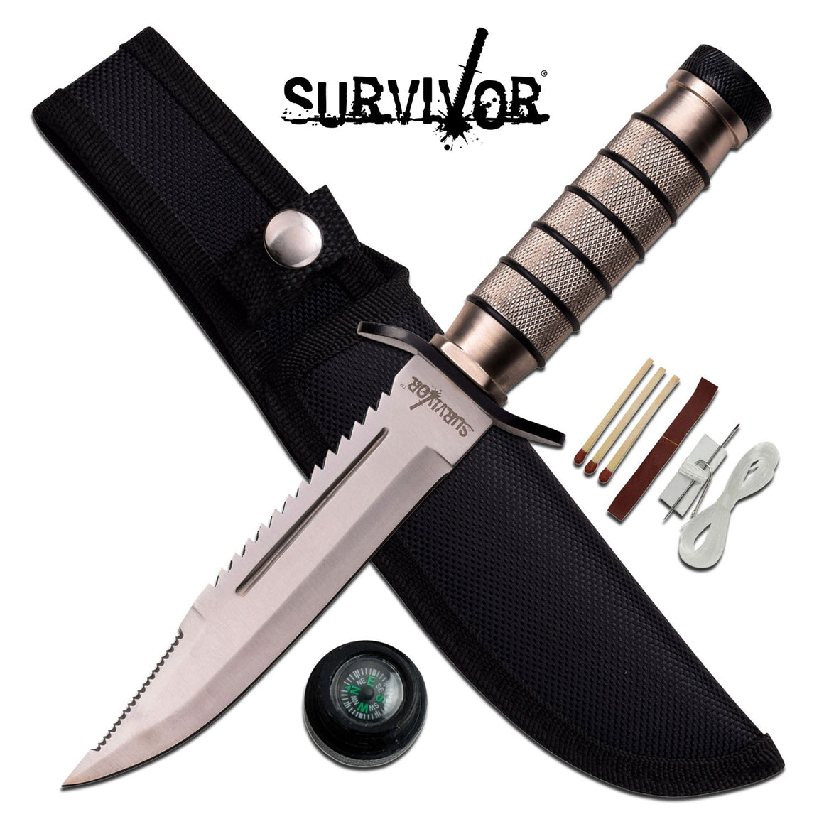 Survivor HK-695 Fixed Blade Knife