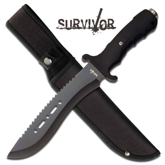 Survivor HK-729BK Fixed Blade Knife