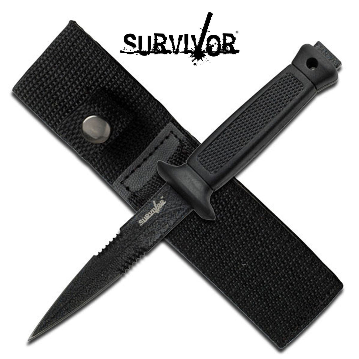 Survivor HK-740BK Fixed Blade Knife