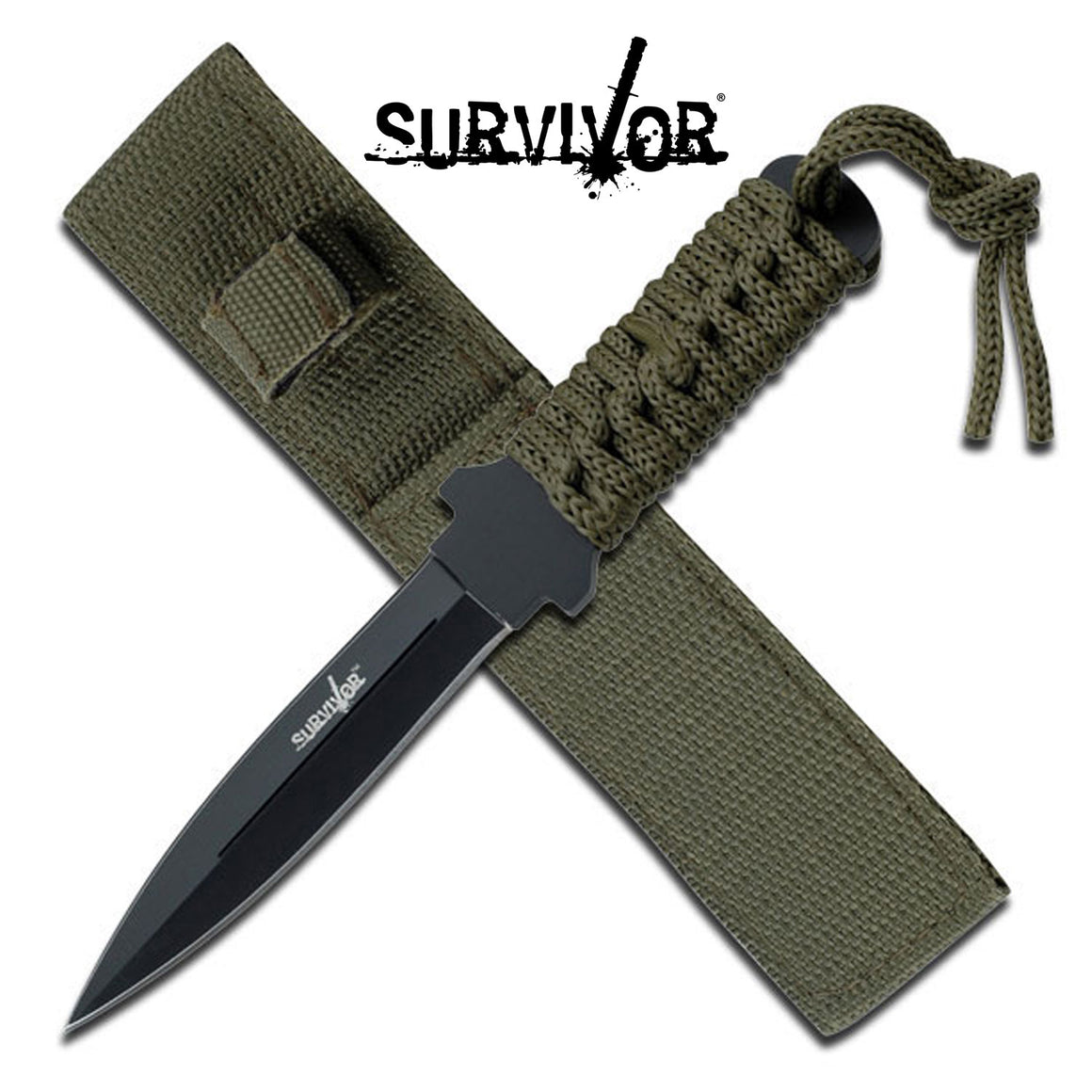 Survivor HK-7521 Fixed Blade Knife