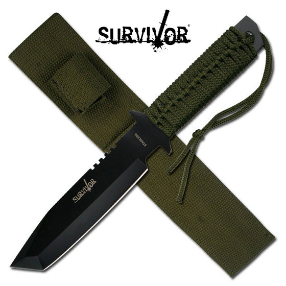 Survivor HK-7524 Fixed Blade Knife