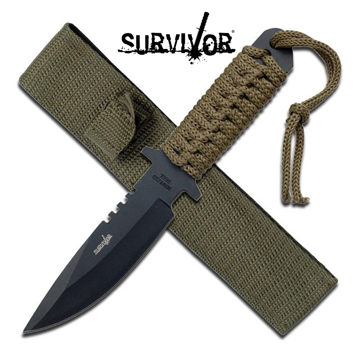 Survivor HK-7525 Fixed Blade Knife