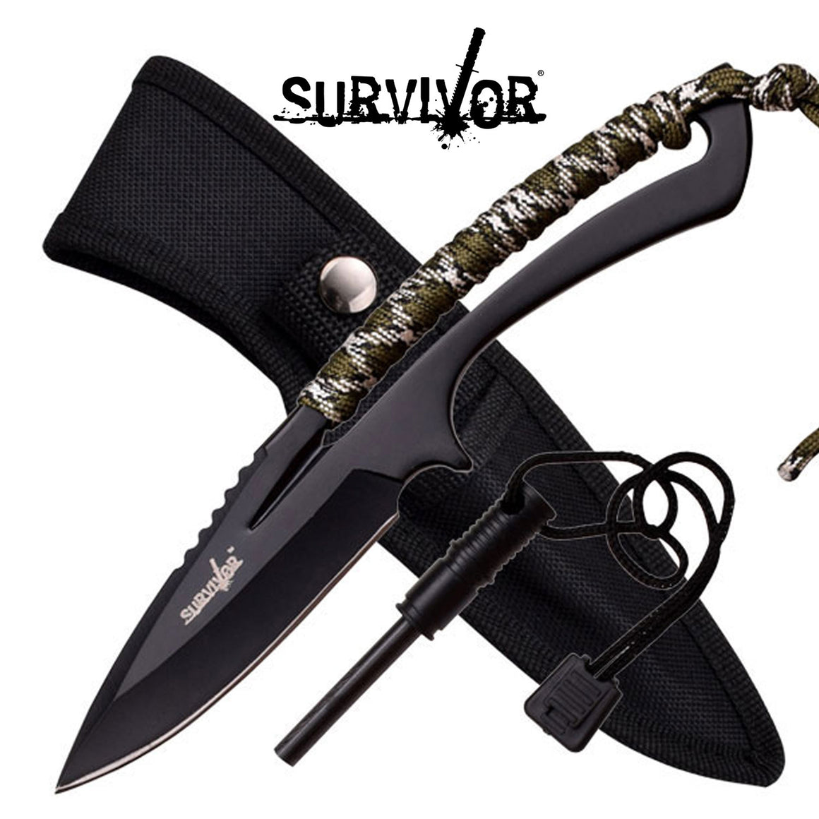 Survivor HK-767CA Fixed Blade Knife