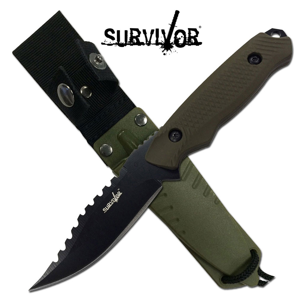 Survivor HK-774GN Fixed Blade Knife