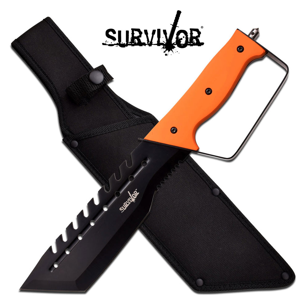 Survivor HK-775OR Fixed Blade Knife