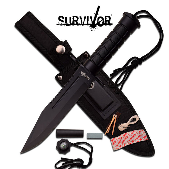 Survivor HK-786BK Fixed Blade Knife