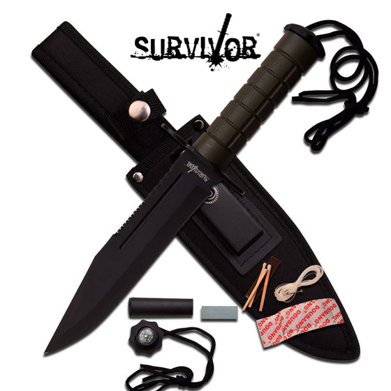 Survivor HK-786GN Fixed Blade Knife