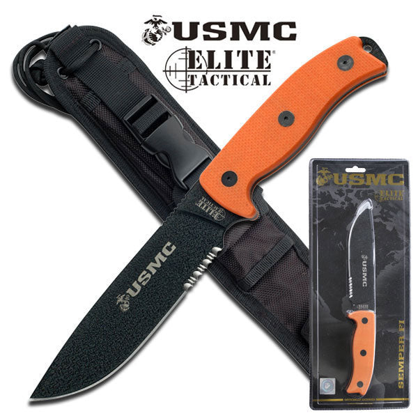 USMC M-1021ORCS Fixed Blade Knife