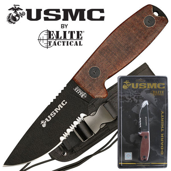 USMC M-1022TNCS Fixed Blade Knife