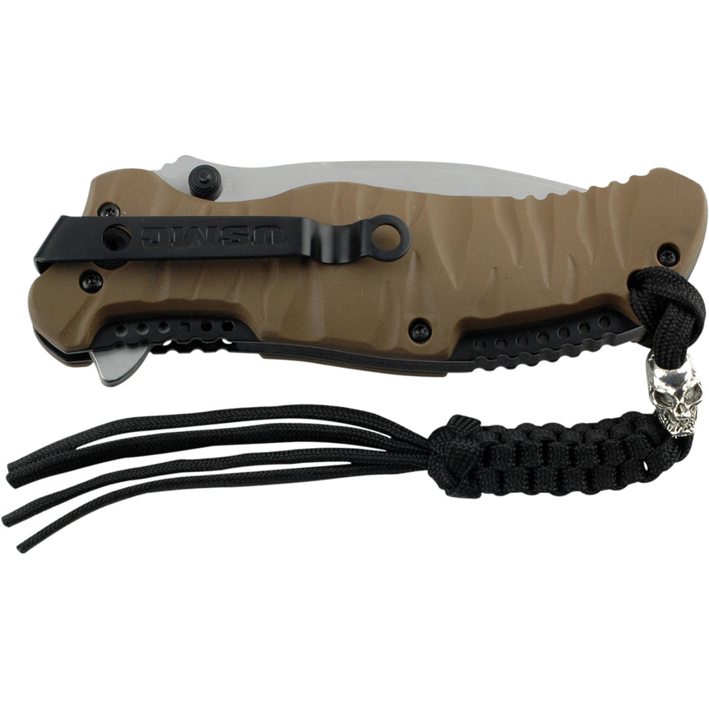 USMC M-A1020TN Spring Assisted Knife