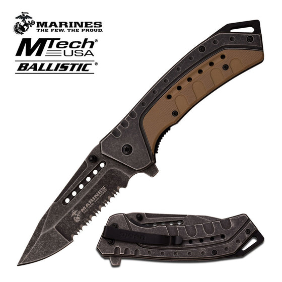 USMC M-A1044BT Spring Assisted Knife