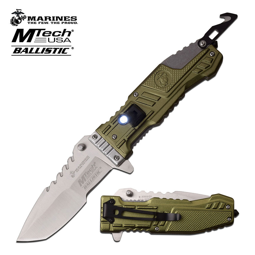 USMC M-A1056GN Spring Assisted Knife