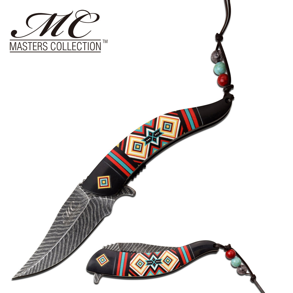 Masters Collection MC-A023BK Spring Assisted Knife
