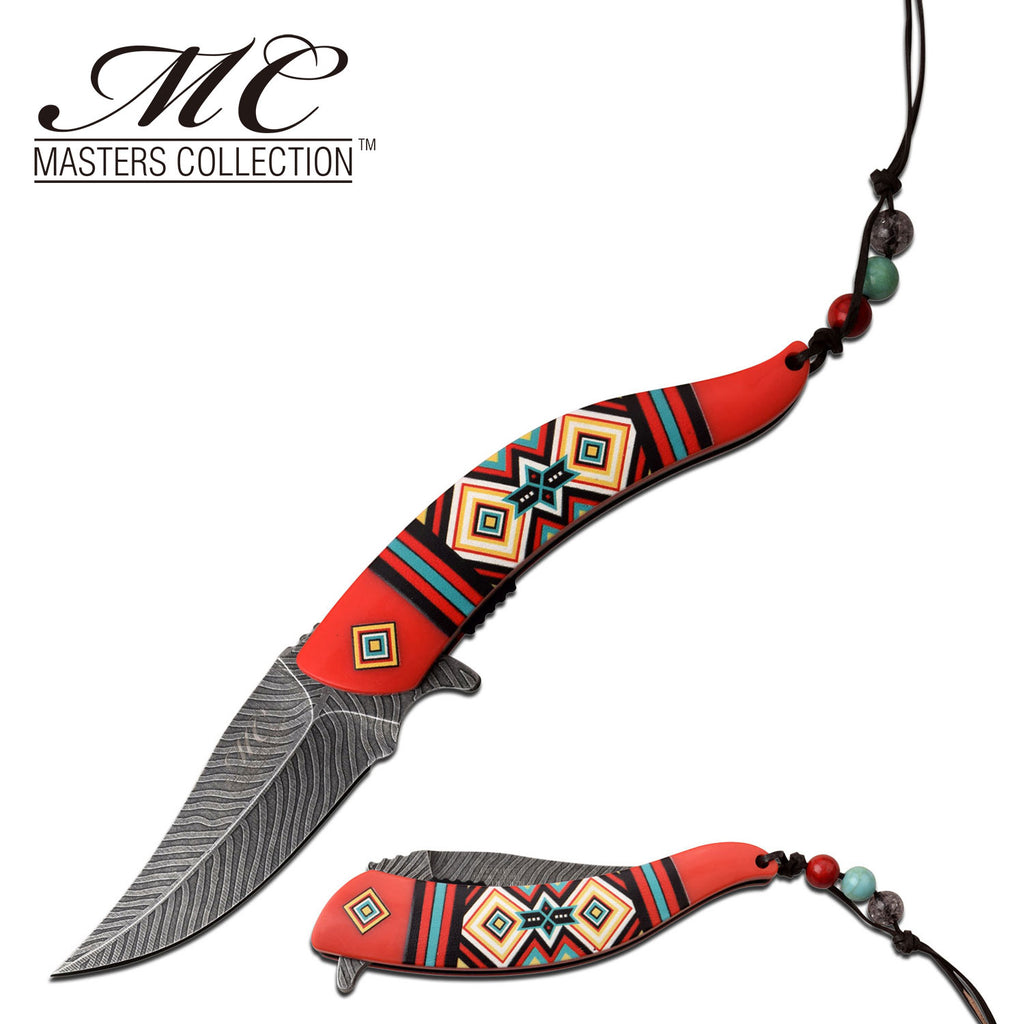 Masters Collection MC-A023RD Spring Assisted Knife